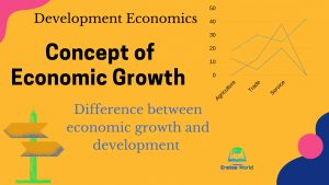 Meaning of Economic Growth and the Difference between Growth and Development