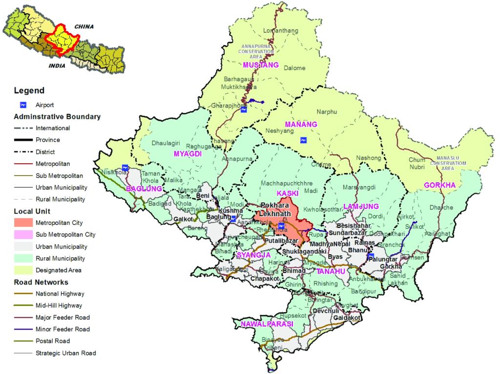 Gandaki Pradesh of Nepal