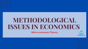Methodological Issues in Economics