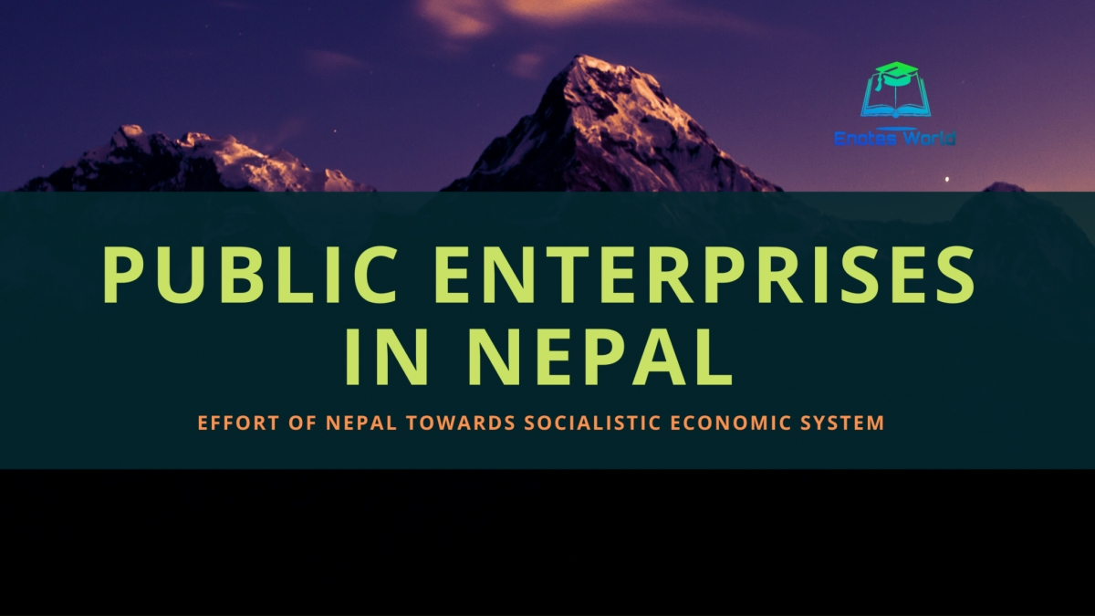 Public Enterprises in Nepal