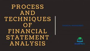 Process and Techniques of Financial Statement Analysis