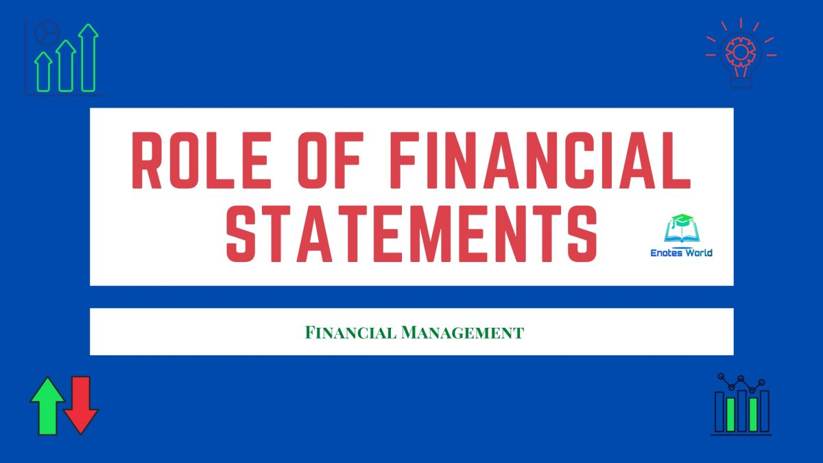 Role of Financial Statements