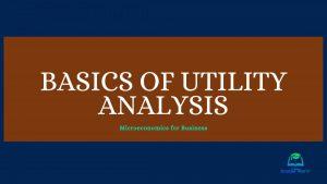 Basics of Utility Analysis