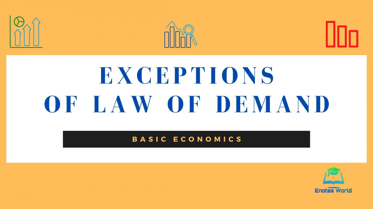 Exceptions of Law of Demand