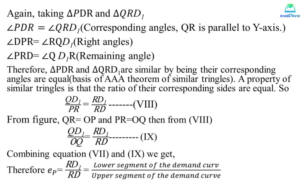 Point Method or Geometric Method