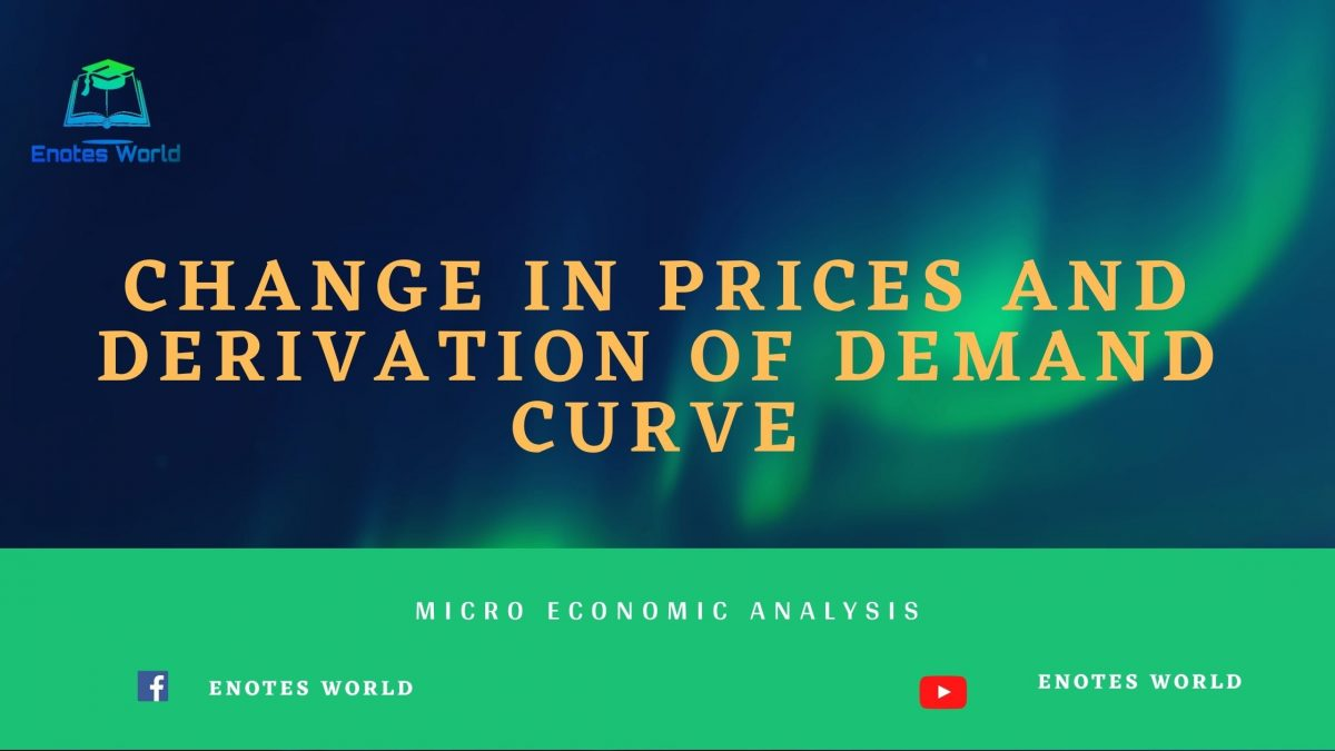 Change in Prices and Derivation of Demand Curve