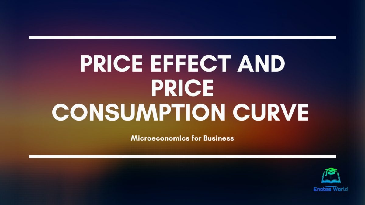 Price Effect and Price Consumption Curve