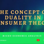 Concept of Duality in Consumer Theory