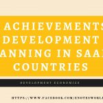 The Achievements of Development Planning in SAARC Countries