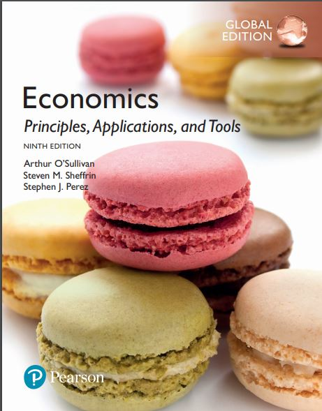 Economics principle application and tools cover