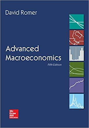 Advanced Macroeconomics by David Romer