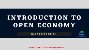 Introduction to open economy