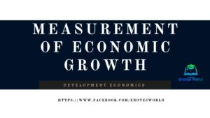 Measurement of Economic Growth